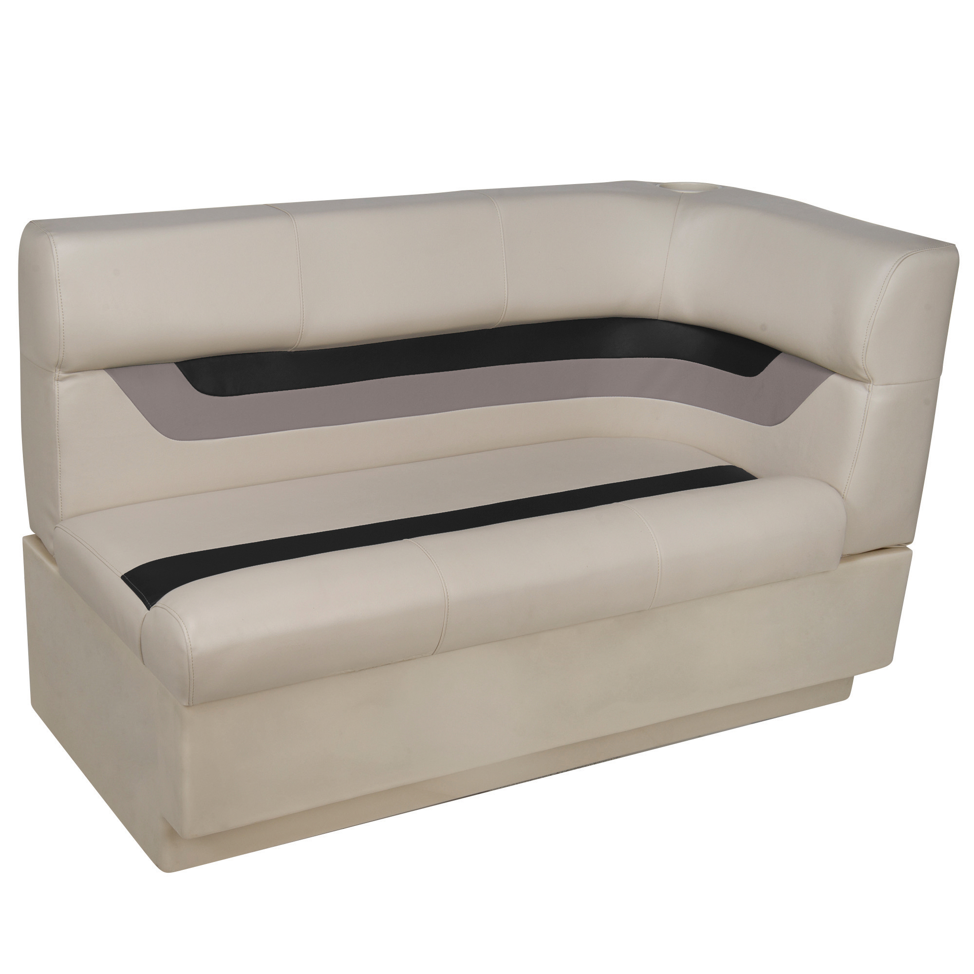 Toonmate Designer Pontoon Left-Side Corner Couch - TOP ONLY