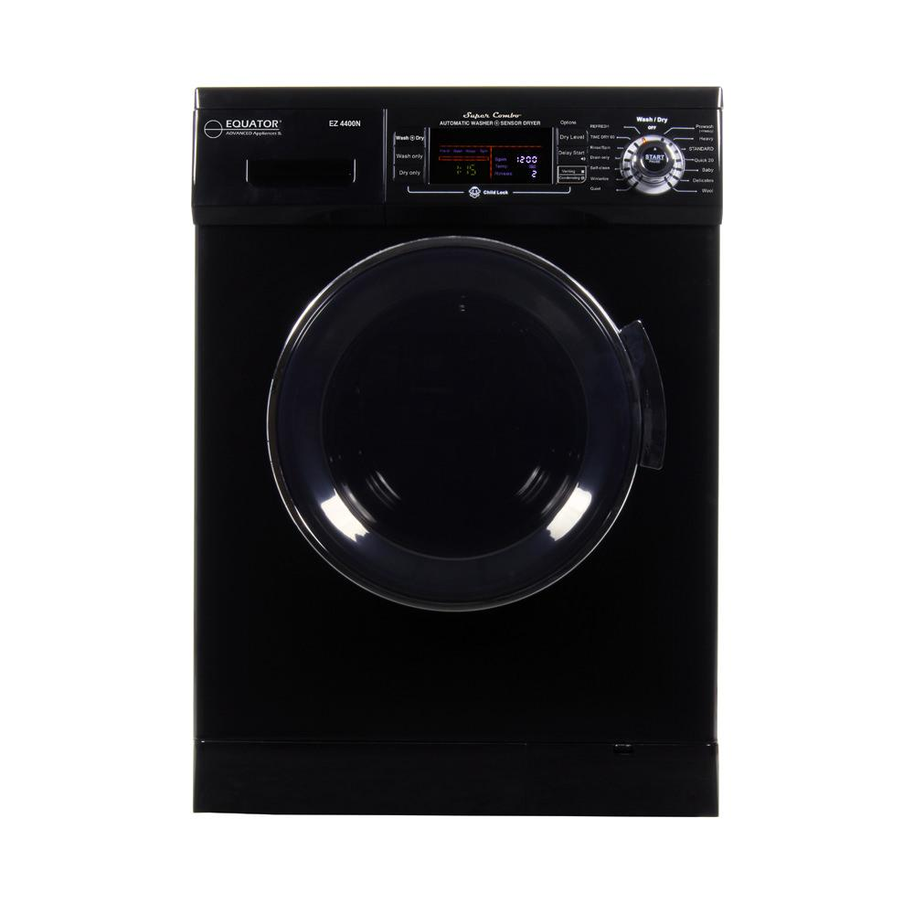 Equator Combo Washer/Dryer 4400 N in Black (Vented/Ventless) with Winterize and Quiet Feature photo