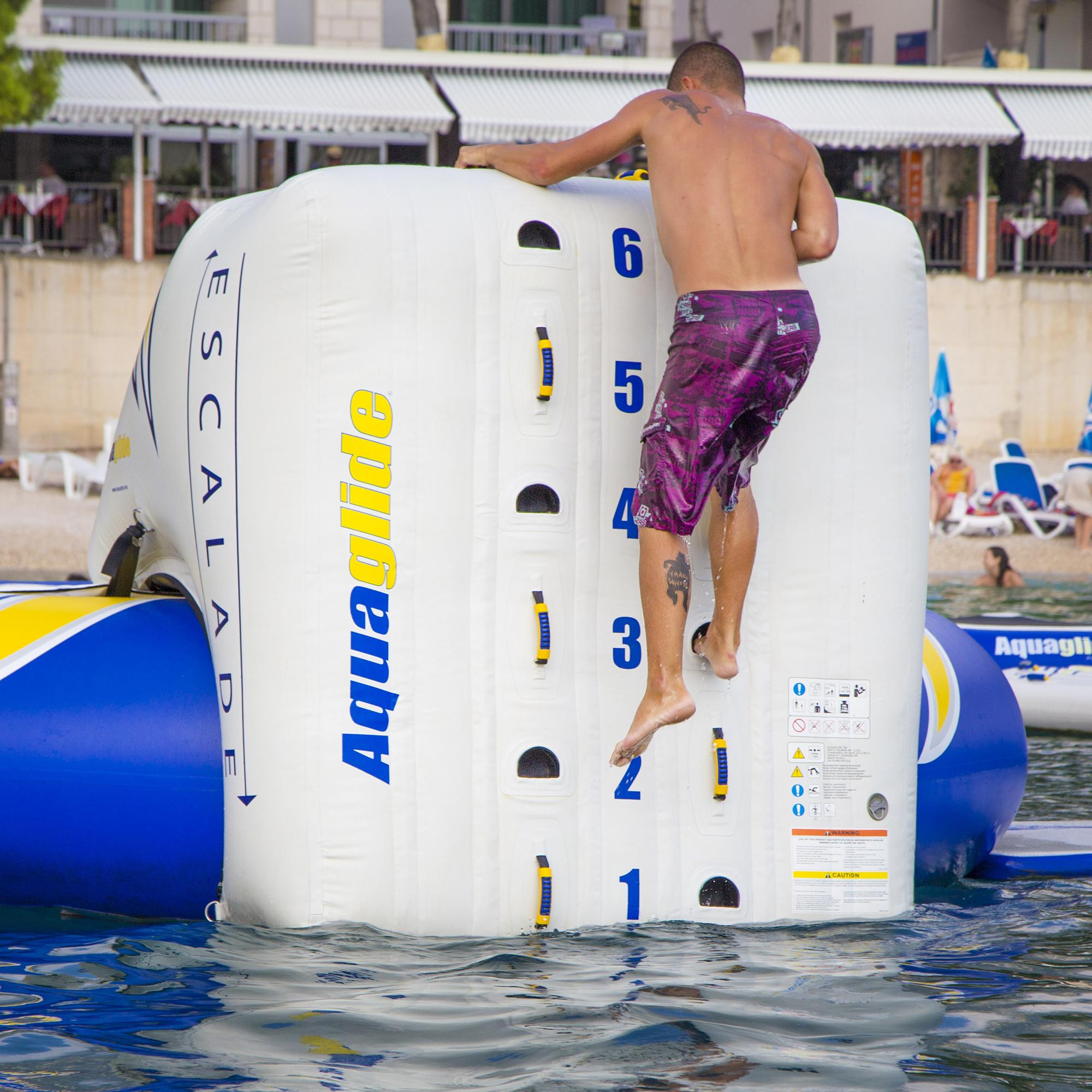 Aquaglide Escalade Trampoline Climbing Wall