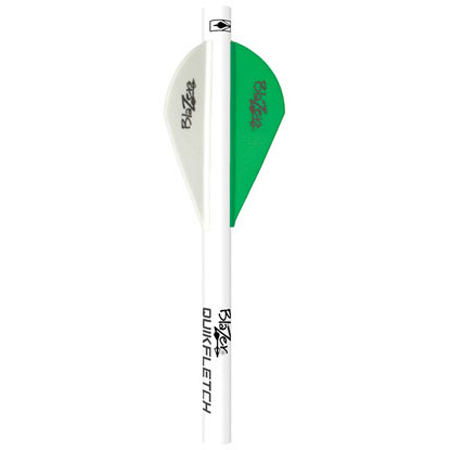 Bohning Blazer Shrink Quick Fletch, 6-Pack, Neon Green