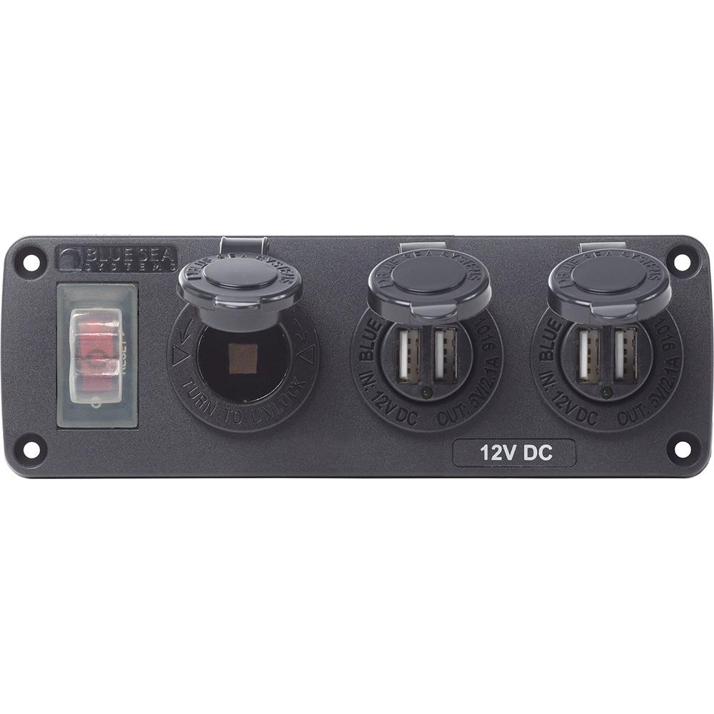 Blue Sea 4365 USB Accessory Panel