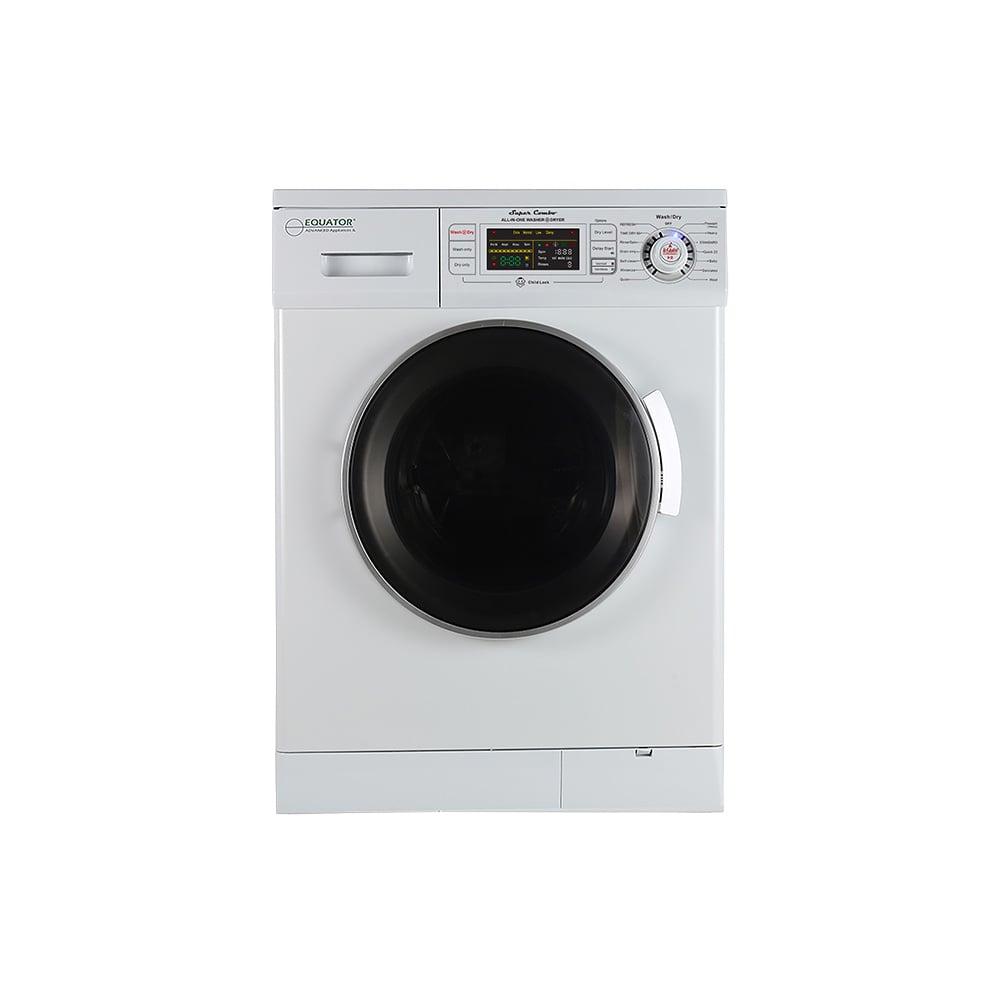 Equator Super Combo Washer/Dryer, White, 2019 Model photo