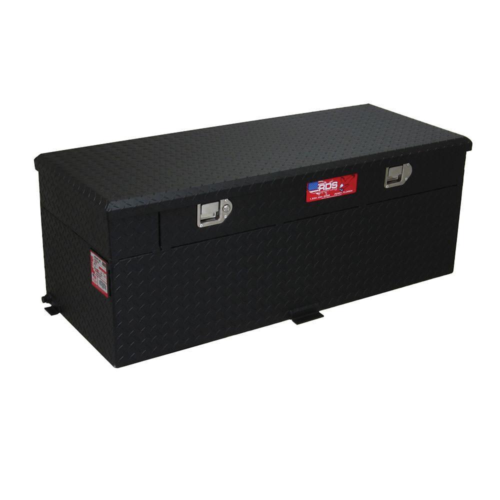 Black Powder Coat Auxiliary Fuel & Tool Tanks, 51 Gallon Combo Fuel & Tool