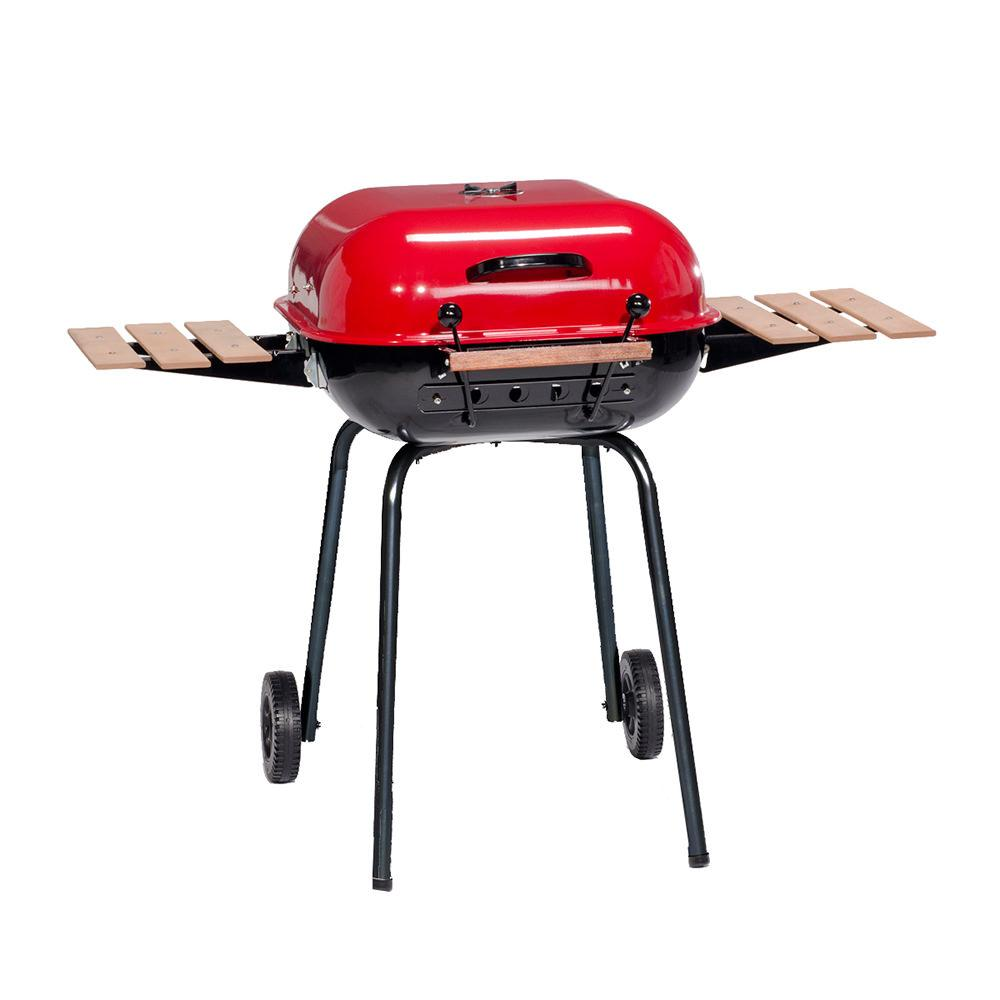Americana Swinger Supreme Charcoal BBQ Grill photo