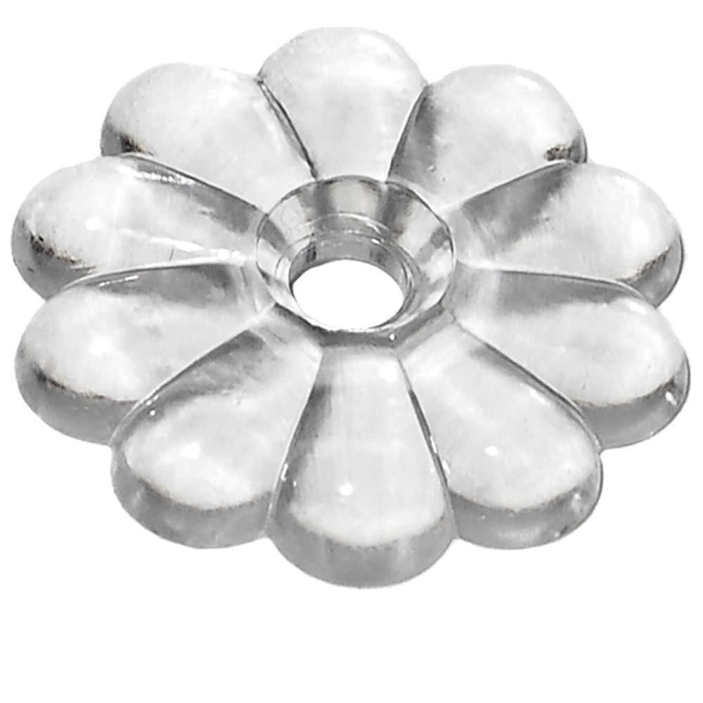 Rosette Washers - Clear photo