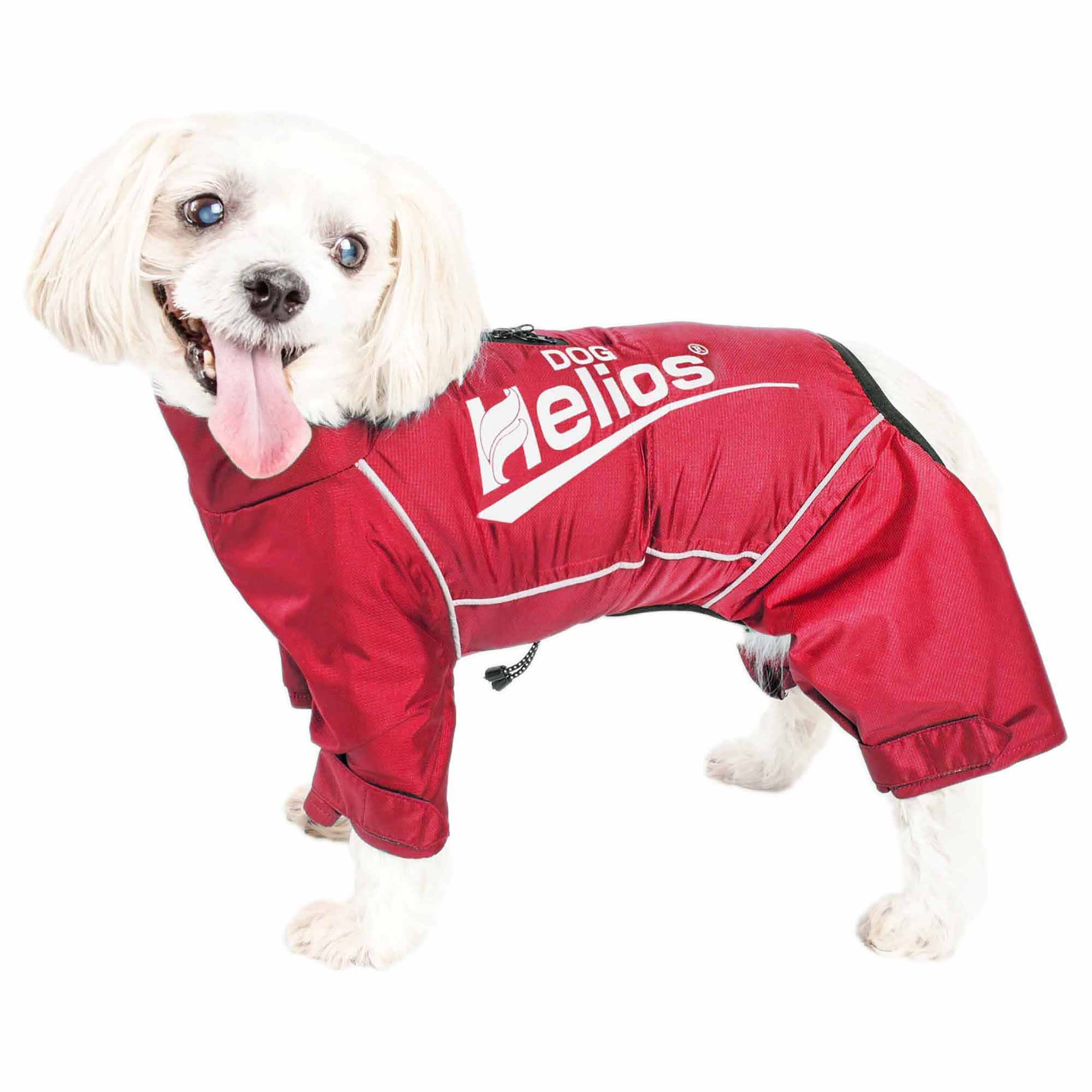 Dog Helios ® 'Hurricanine' Waterproof And Reflective Full Body Dog Coat Jacket W/ Heat Reflective TechnologyDog Helios ® 'Hurricanine' Waterproof And Reflective Full Body Dog Coat Jacket W/ Heat Ref