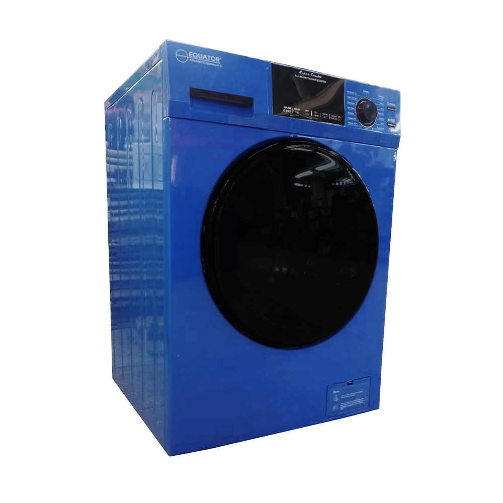 Equator 18 lbs Combination Washer Dryer, Blue photo