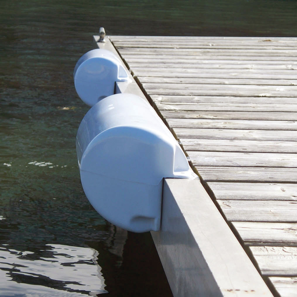 "Dock Edge DockSide Straight Bumper, 15-1/2""L x 6-5/8""H"