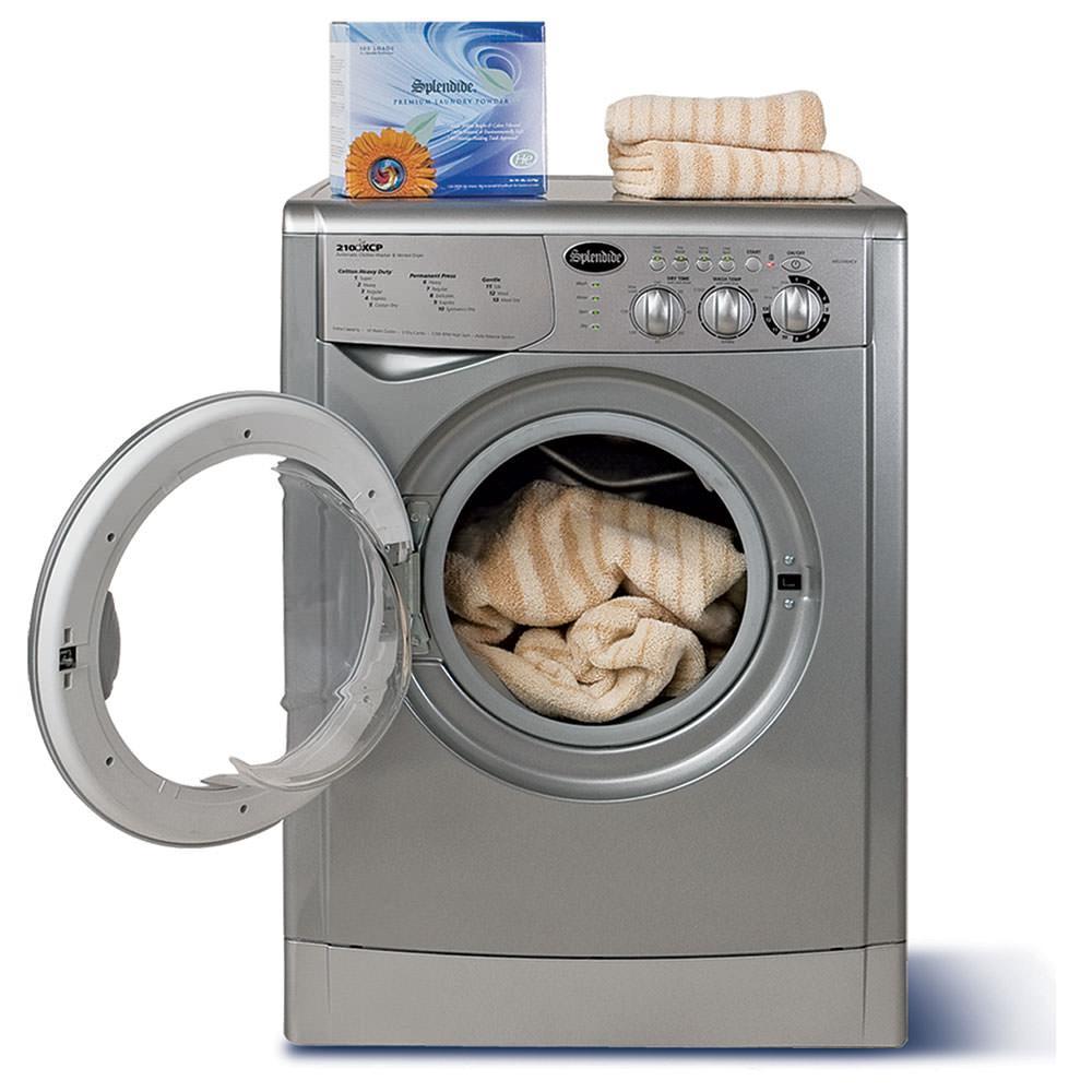 Splendide 7100XC Washer/Dryer, Platinum photo