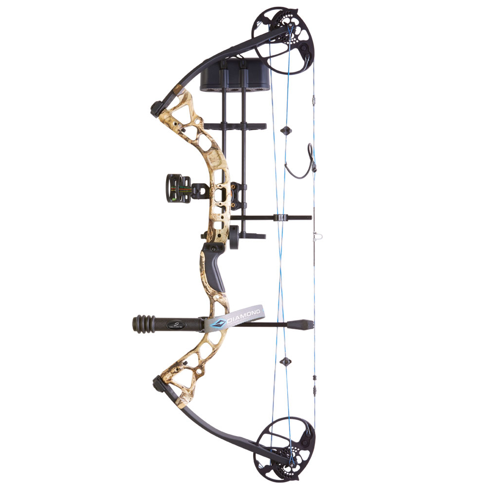 Diamond Archery by BowTech Infinite Edge Pro Bow Package, LH, Mossy Oak Break-Up (847019081008 Hunting Bows Compound Bows) photo