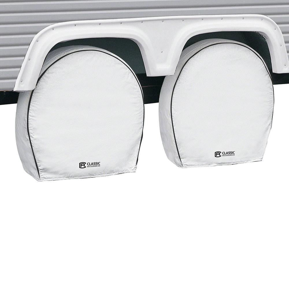 Classic Accessories OverDrive Deluxe RV Wheel Cover, 4 Pack, Wheels 18
