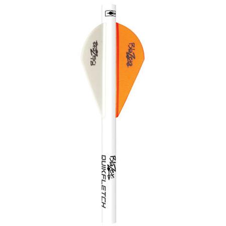 Bohning Blazer Shrink Quick Fletch, 6-Pack, Neon Orange