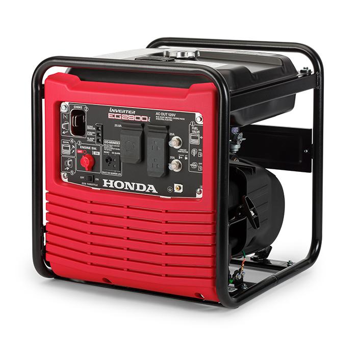 Honda EG2800iAG 2800-Watt Inverter Generator with CO-MINDER 663622