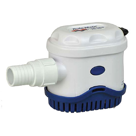 Rule-Mate Automatic Bilge Pump RM1100 - 1100 GPH photo
