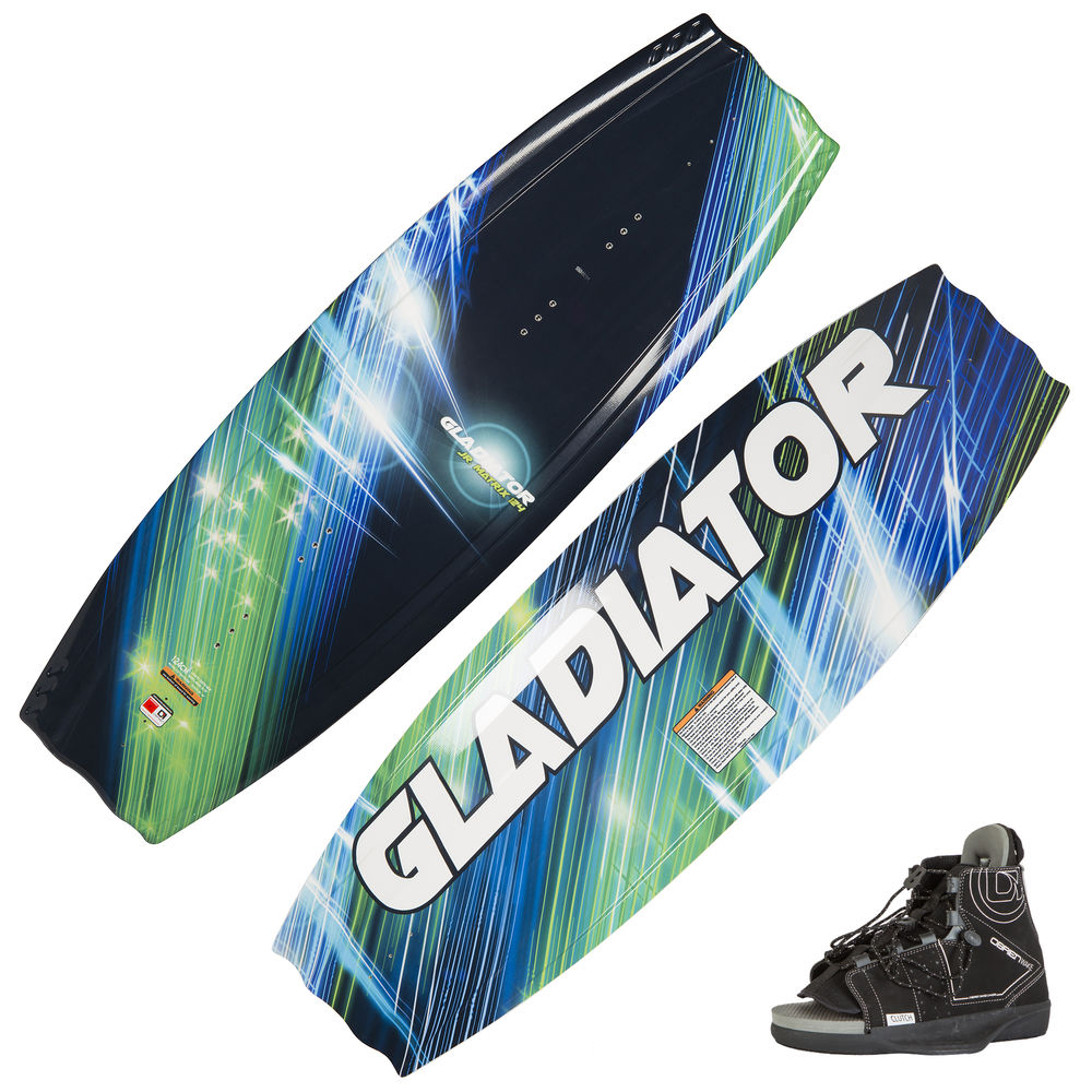 Gladiator Matrix Jr. Wakeboard With Clutch Bindings
