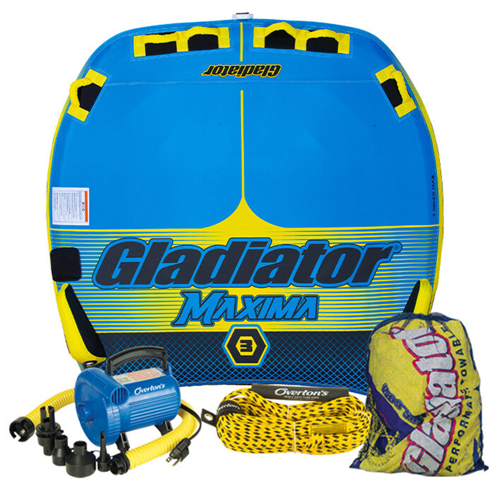 Gladiator Maxima 3 Package w/ Rope & Pump