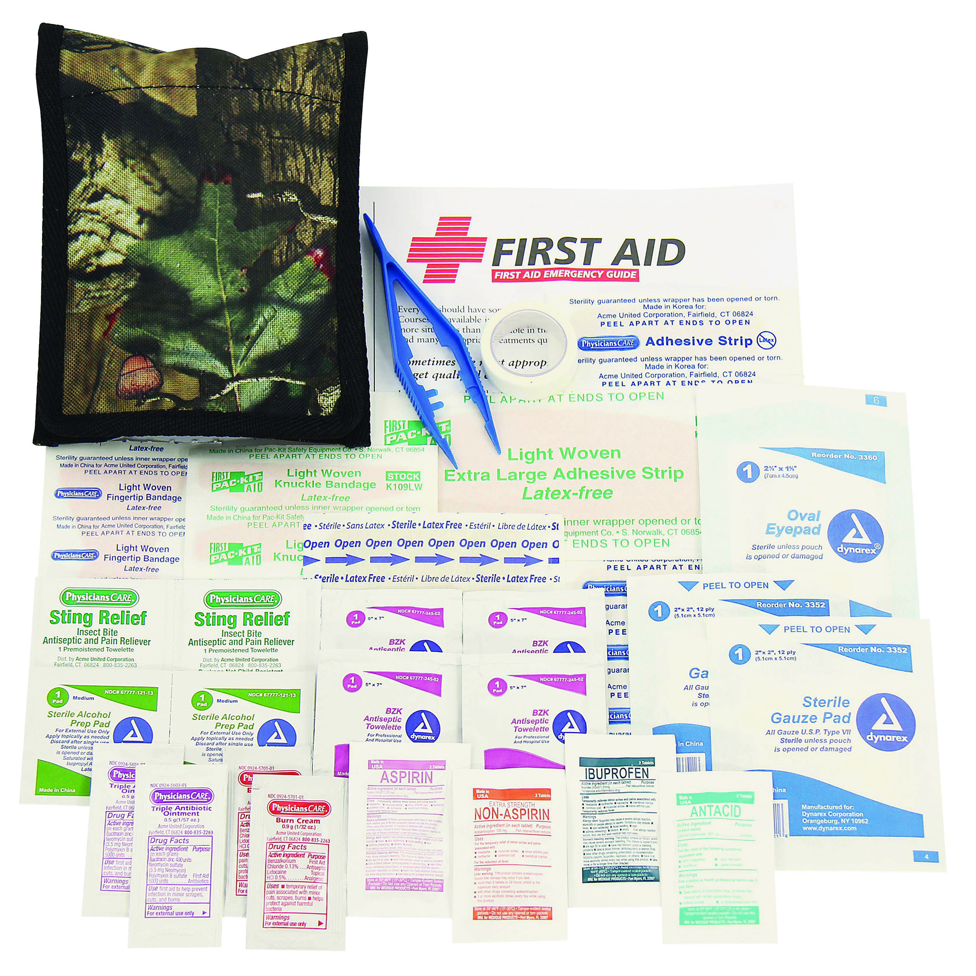 Orion Camo Basic Outdoor First Aid Kit