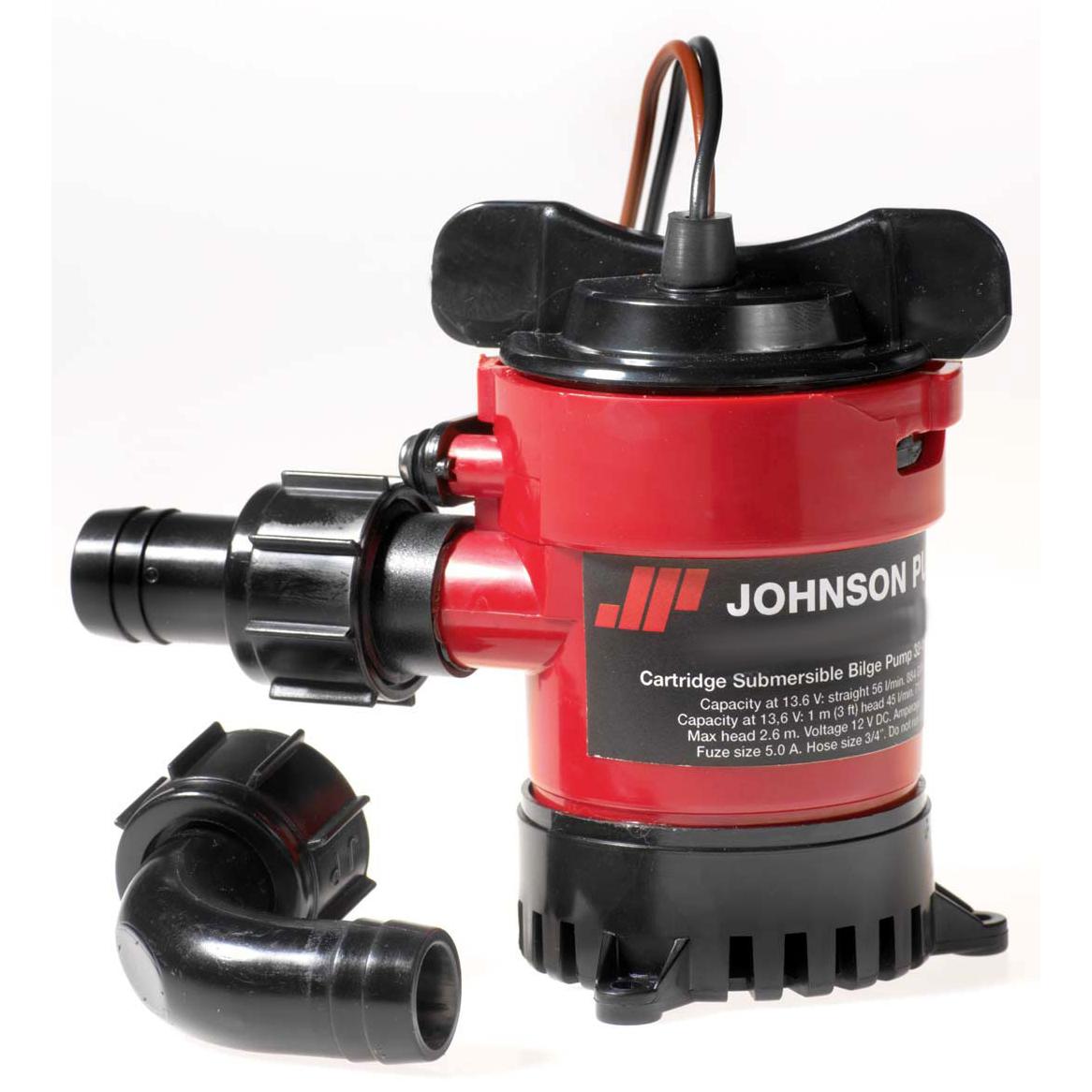 Johnson Cartridge Bilge Pump, 500 GPH photo
