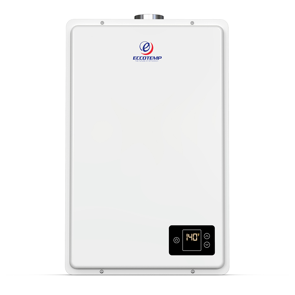 Eccotemp 20HI Indoor 6.0 GPM LP Tankless Water Heater Horizontal Bundle