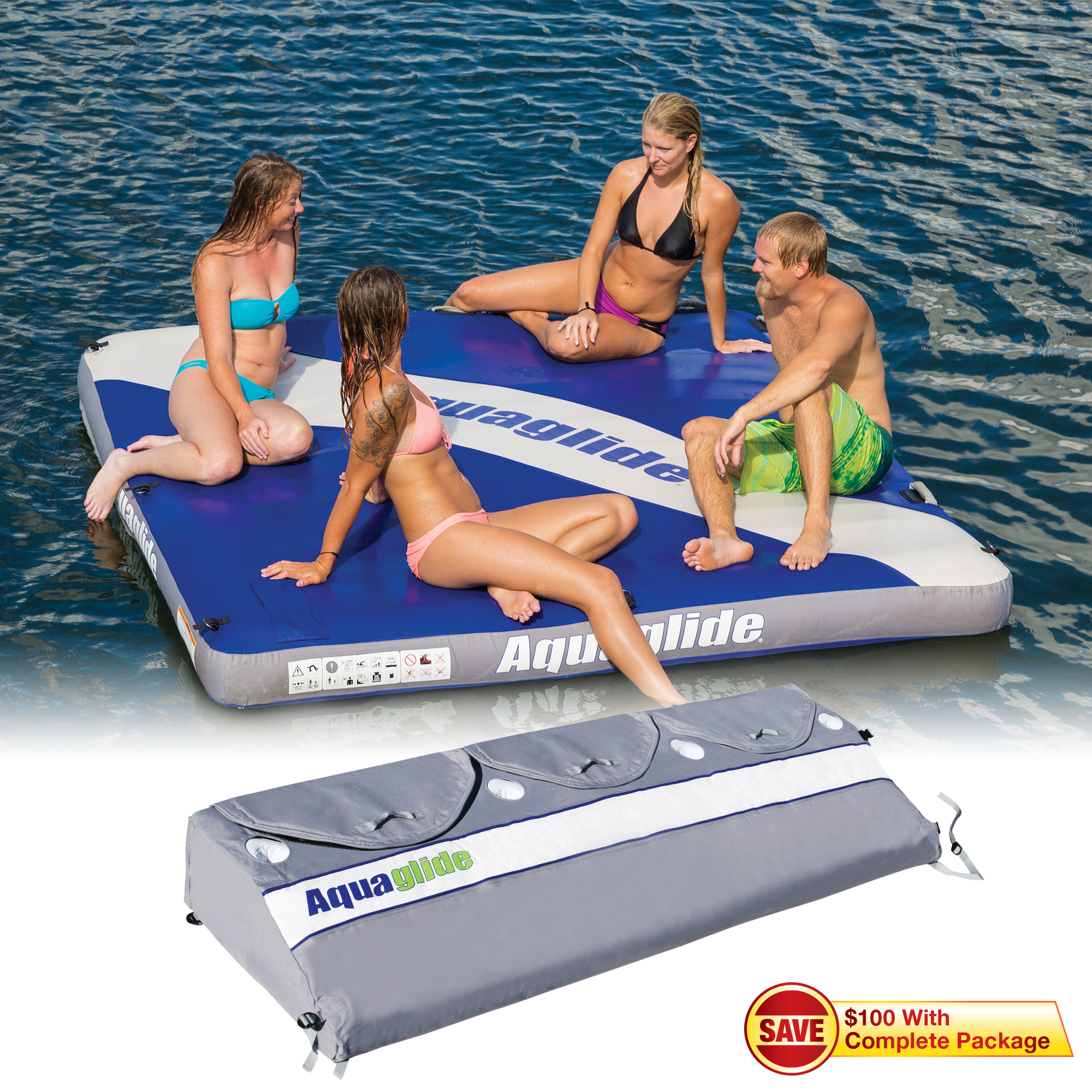 Aquaglide Airport Classic Towable Platform With Softpack