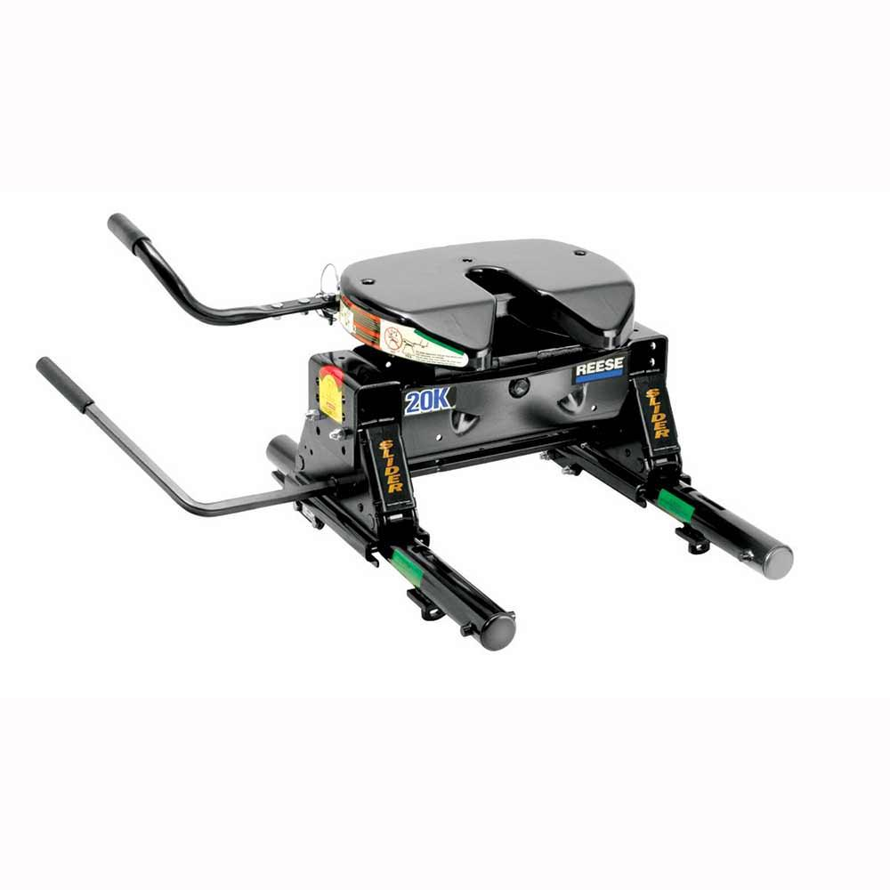 REESE 20K 5th Wheel Hitch with Round Tube Slider -  Cequent, 30083