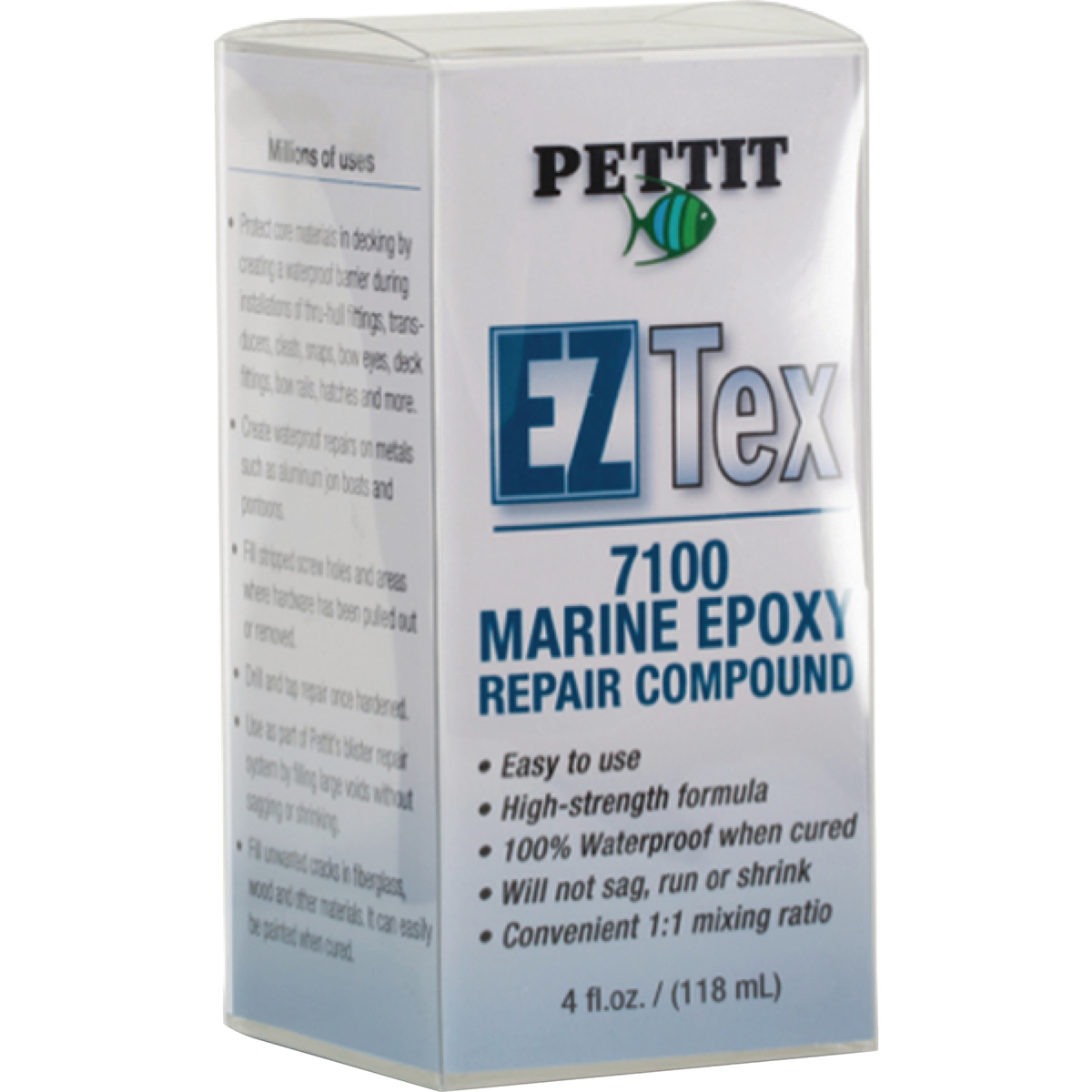 Pettit EZ-Tex Epoxy Compound, 4 oz.