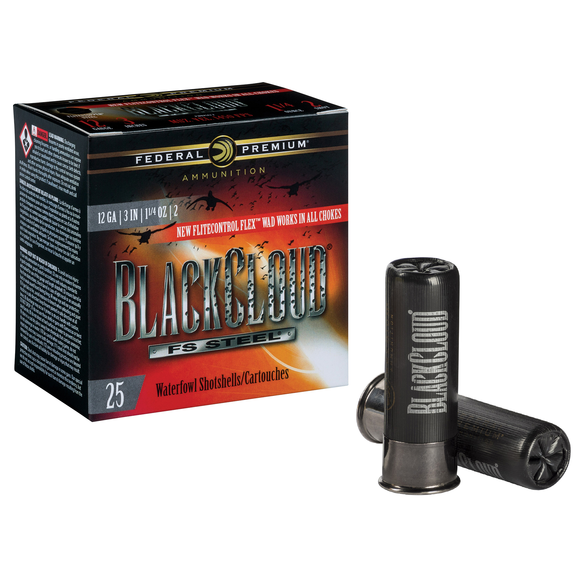 Federal Premium Black Cloud FS Steel Shotshells