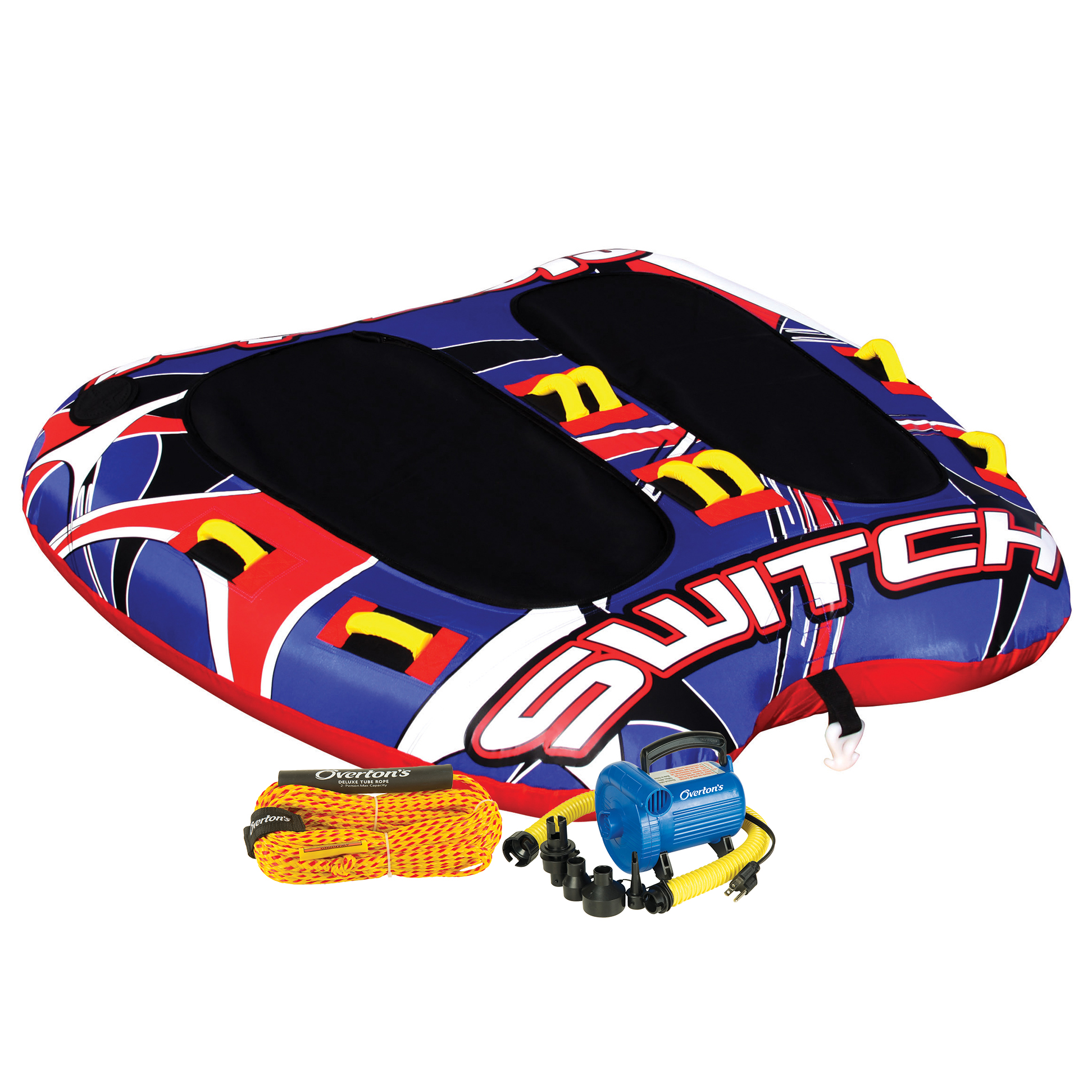 Gladiator Switch 2-Person Towable Tube Package