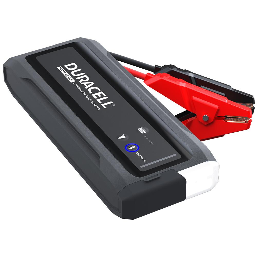 Duracell Bluetooth Lithium-Ion 1100-Amp Jump Starter