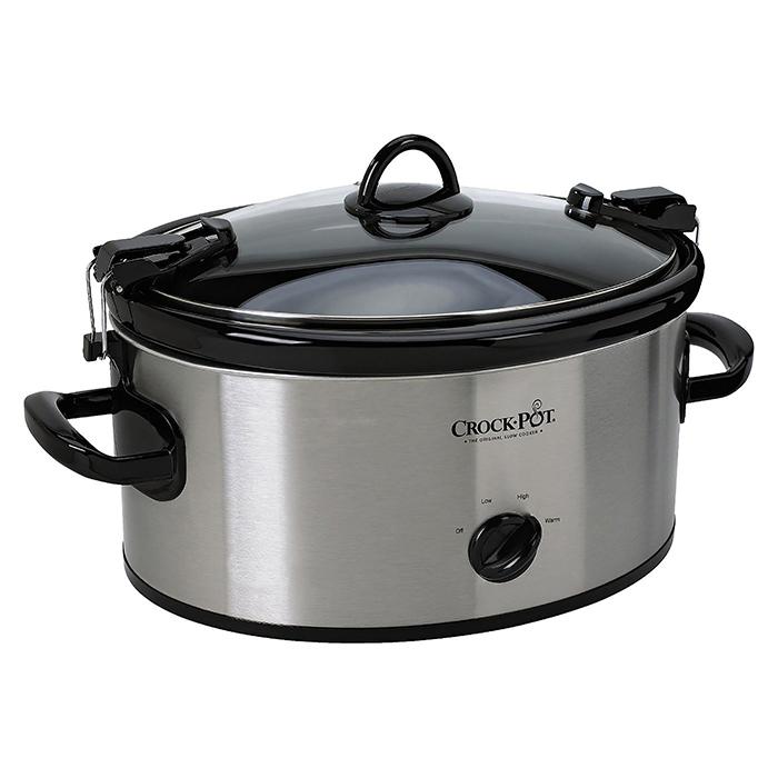 Crockpot 6-Quart Cook & Carry Manual Slow Cooker photo