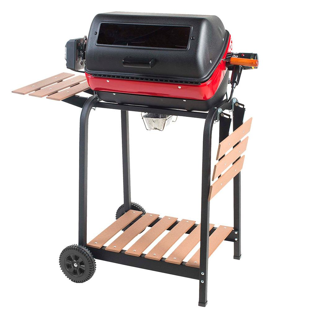 Easy Street Supreme Cart Electric BBQ Grill photo
