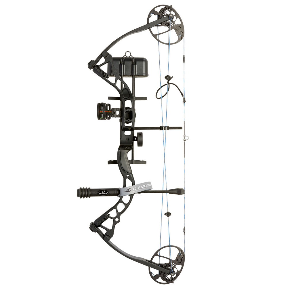 Diamond Archery by BowTech Infinite Edge Pro Bow Package, RH, BlackOps (847019080971 Hunting Bows Compound Bows) photo
