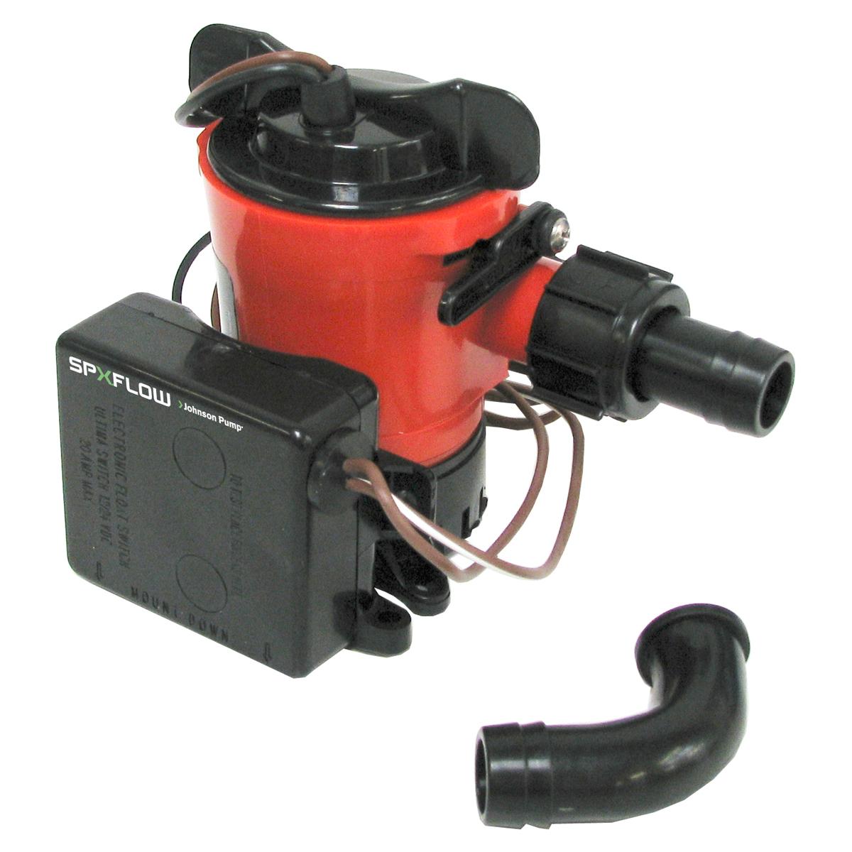 Johnson Pump Ultima Combo Pump - 500 GPH Open Flow photo