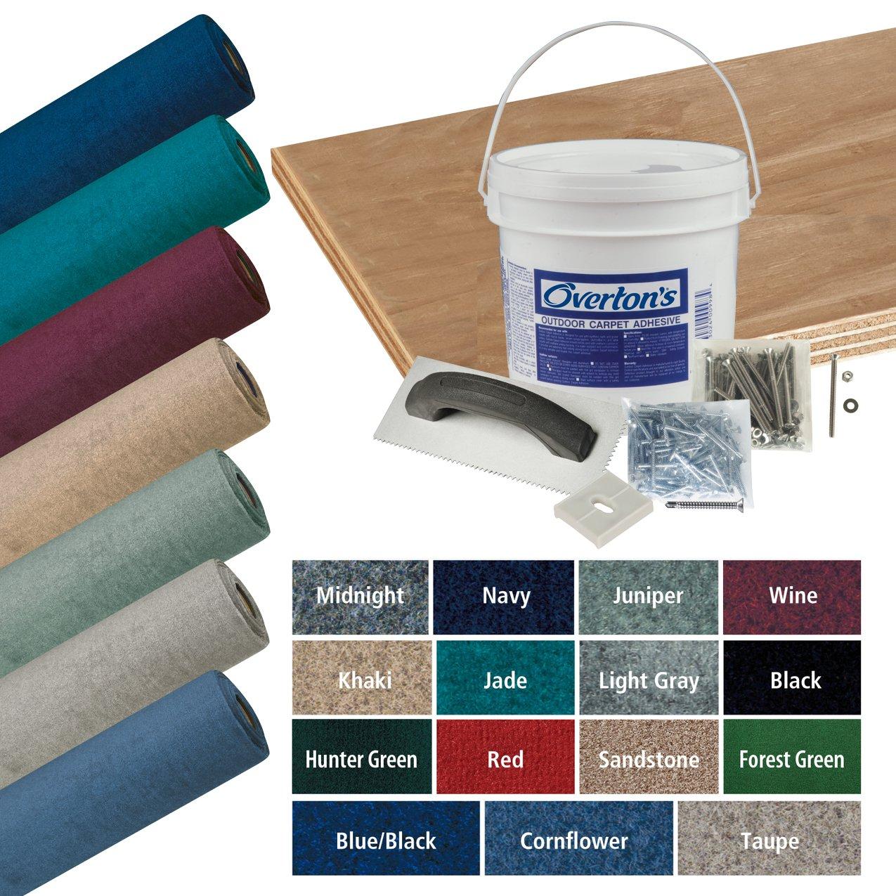 Overton's Daystar Carpet and Deck Kit, 8.5'W x 25'L