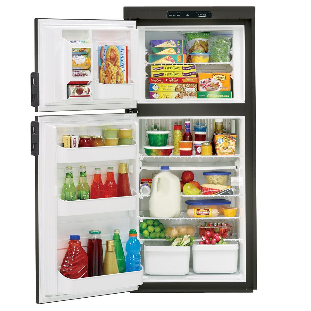 Dometic Americana Plus DM2662 2-Way Refrigerator without Icemaker, Double Door, 6.0 Cu. Ft. photo