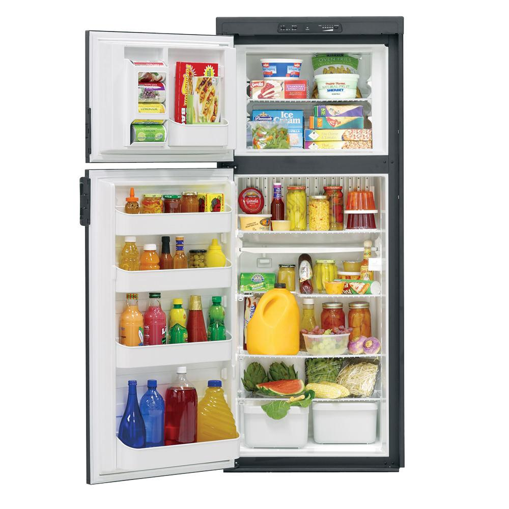 Dometic Americana Plus DM2862 2-Way Refrigerator without Icemaker, Double Door, 8.0 Cu. Ft. photo