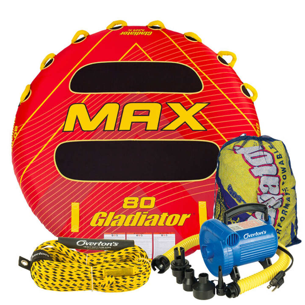 Gladiator Max 3 Package w/ Rope & Pump