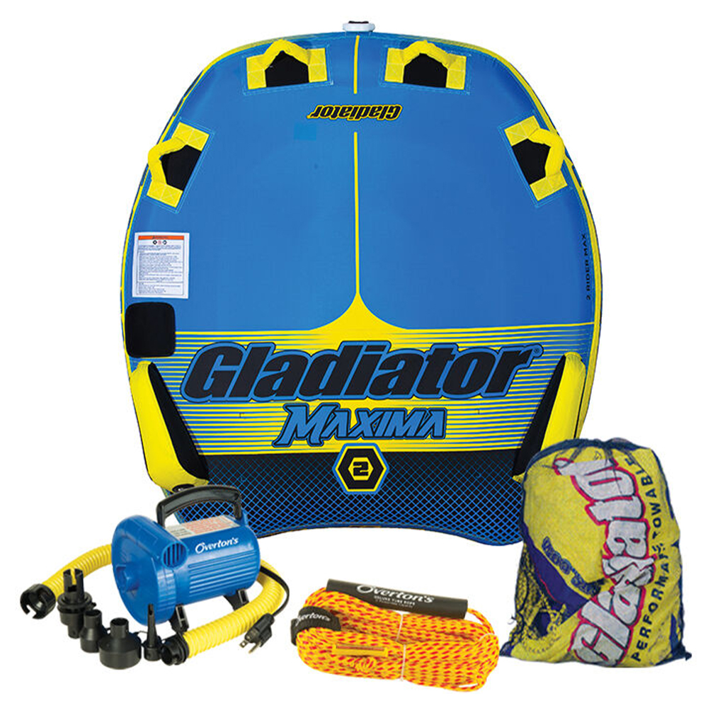 Gladiator Maxima 2 Package w/ Rope & Pump