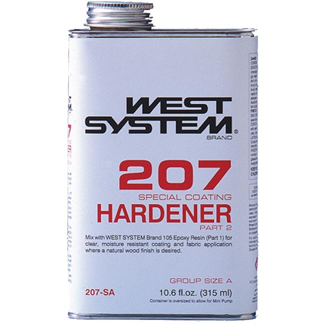 West System 207 Special Coating Hardener, 10.6 oz.