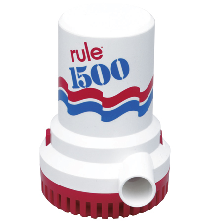 Rule Submersible Bilge Pump 02 - 1500 GPH photo