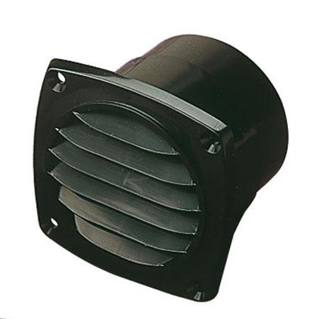 Sea-Dog ABS Black Hose Thru-Vent, 3-11/16