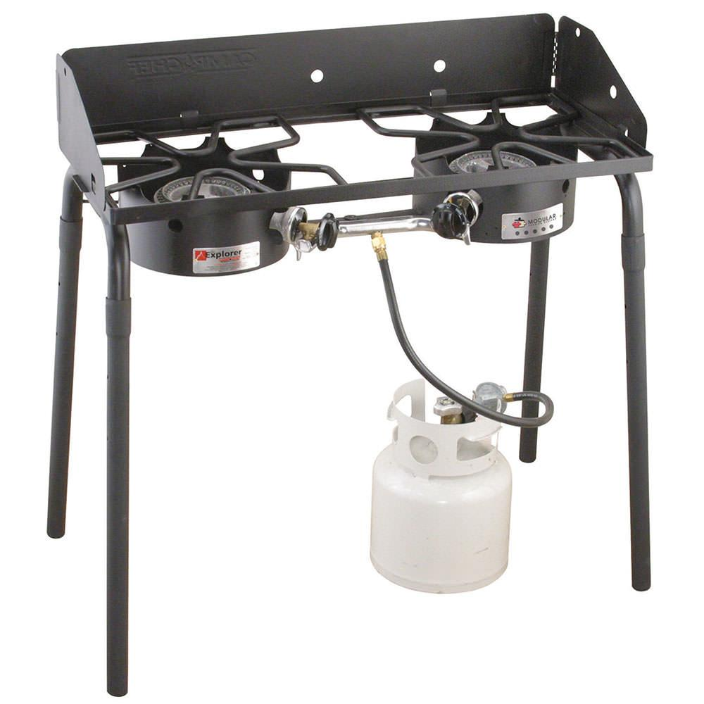 Camp Chef Explorer 2-Burner Outdoor Stove photo