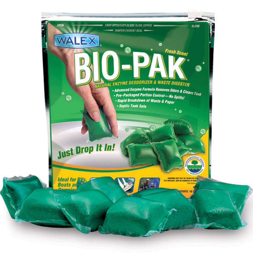 Bio-Pak Natural Enzyme Deodorizer, Paper and Waste Digester - Alpine Fresh