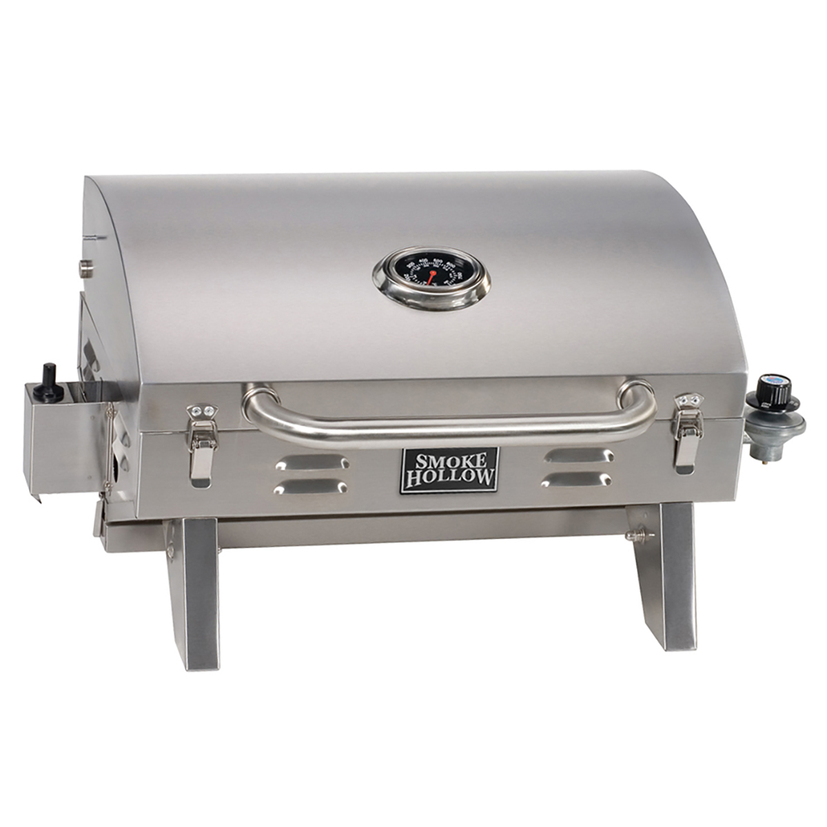 Smoke Hollow Stainless Steel Tabletop Grill photo