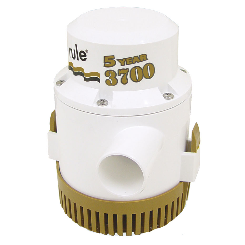 Rule 3700 Gold Series Bilge Pump photo