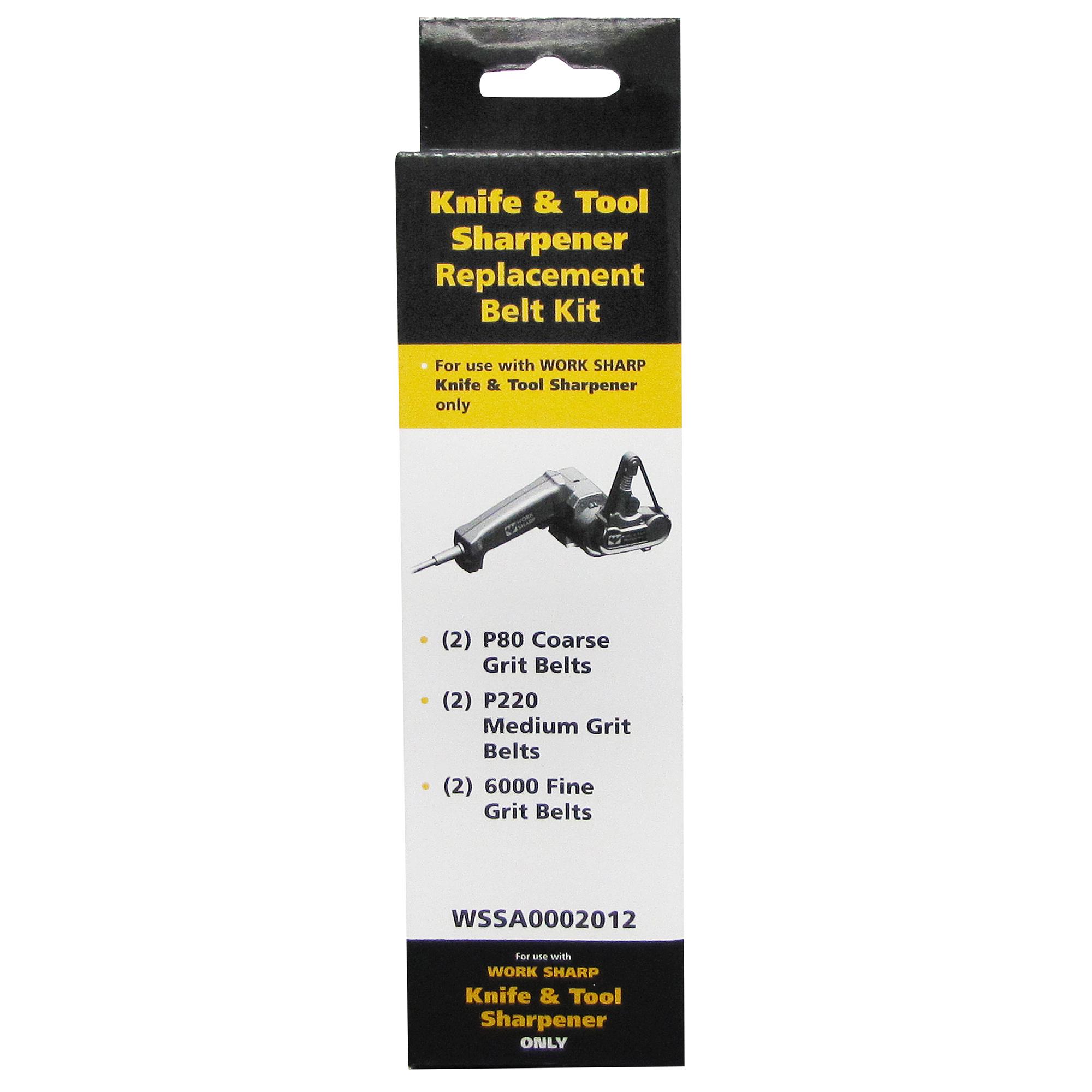 Work Sharp WSKTS Assorted Replacement Belt Accessory Kit, 1/2