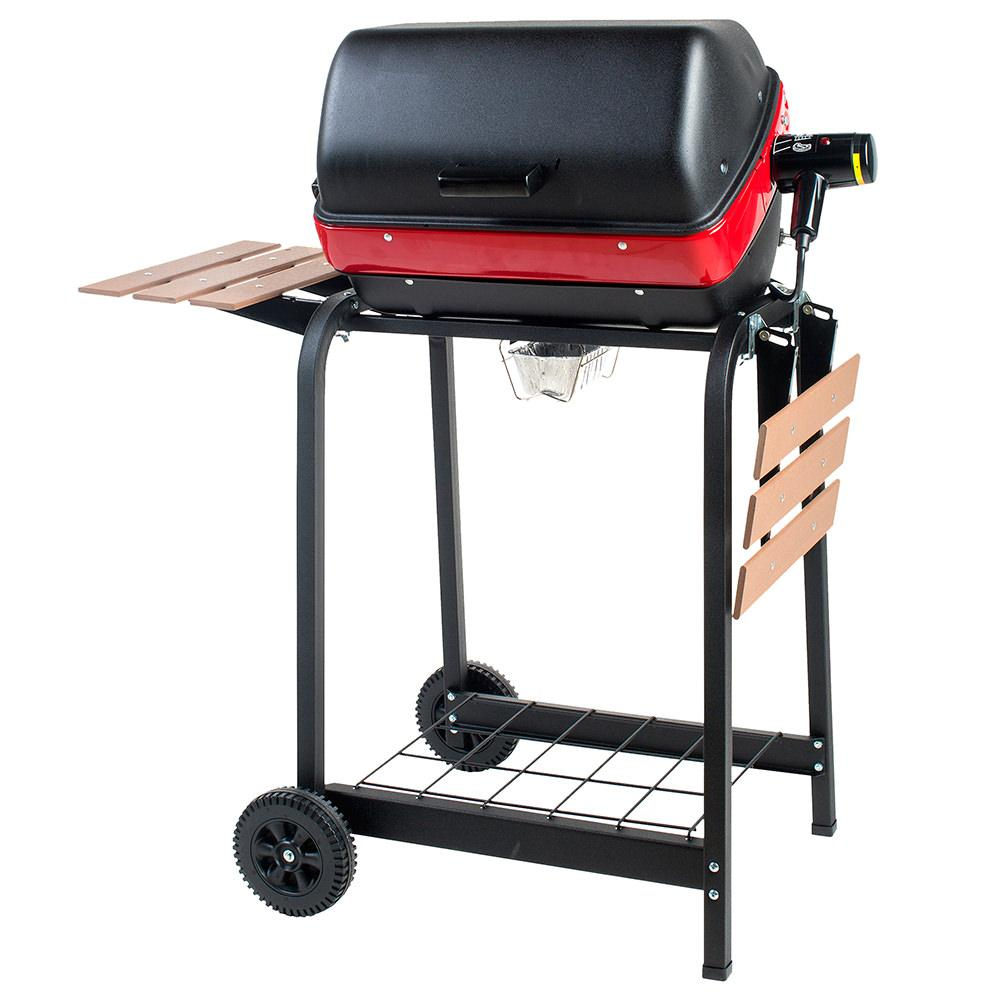 Easy Street Deluxe Cart Electric BBQ Grill photo