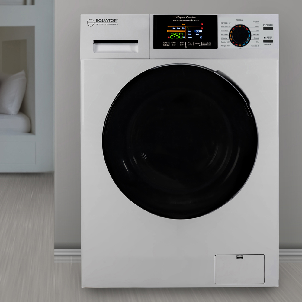 Equator 18 lbs Combination Washer Dryer, White photo