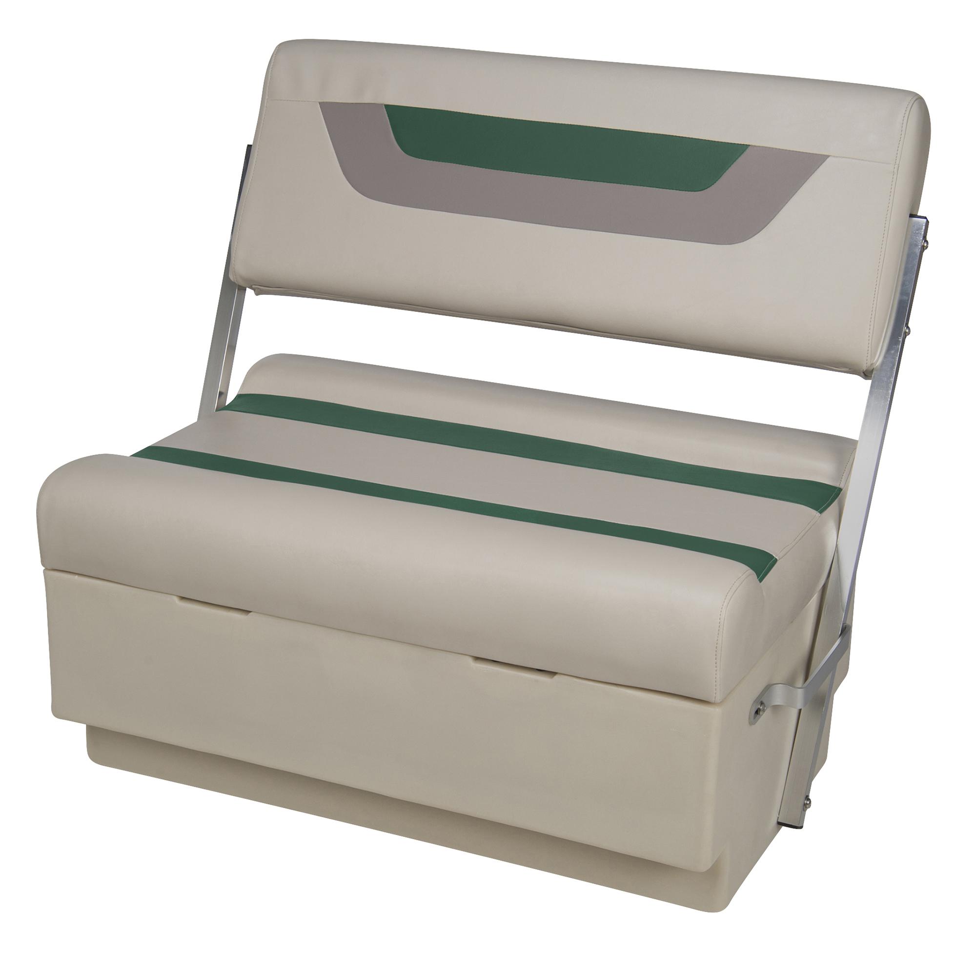 Toonmate Designer Pontoon Flip-Flop Seat, Platinum