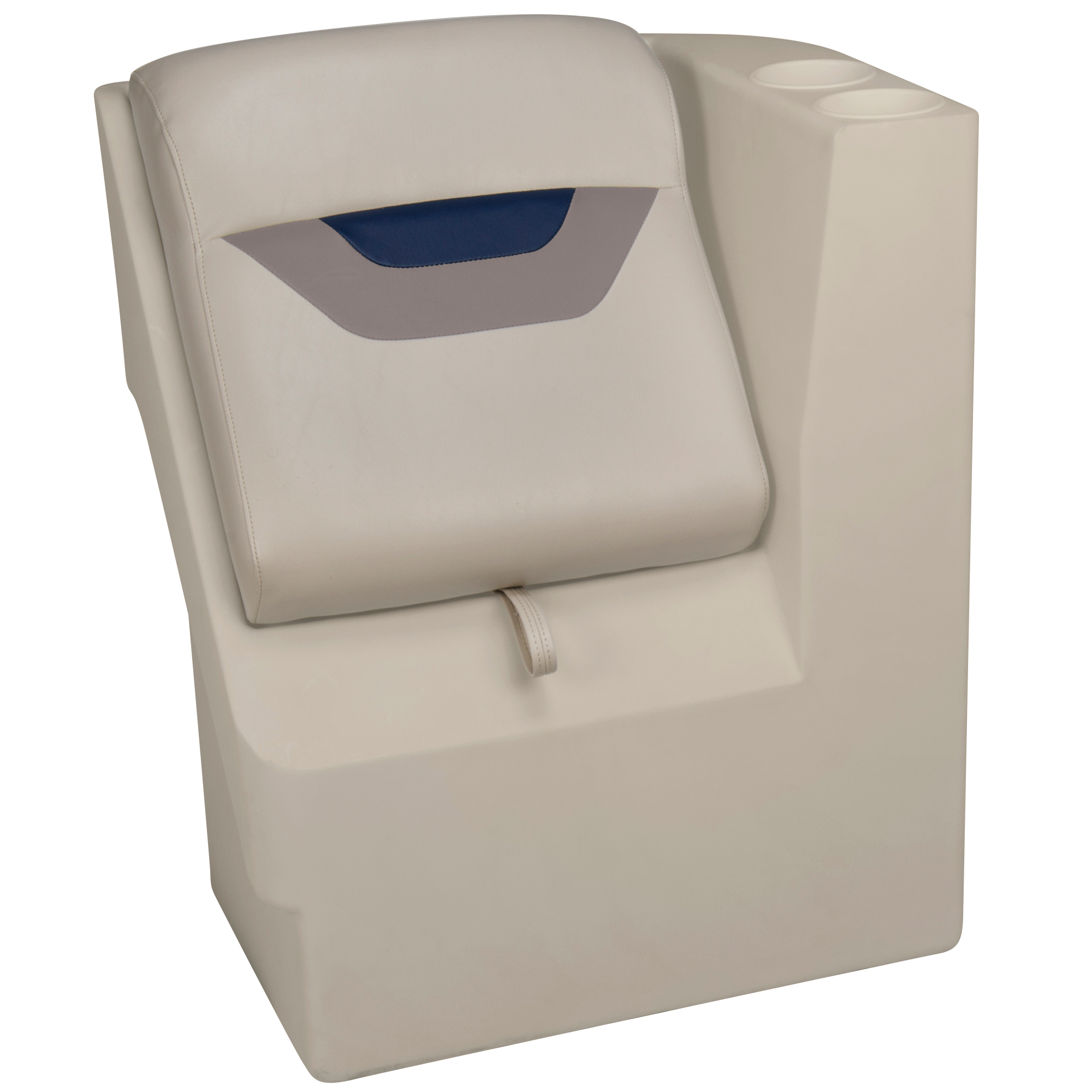 Toonmate Designer Pontoon Left-Side Lean-Back Seat